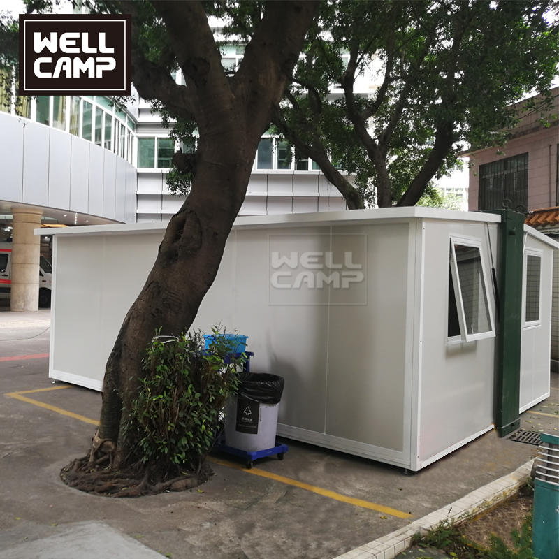 Wellcamp Expandable House for Hospital Emergency Room