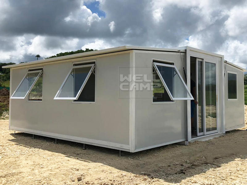 Expandable Container Villa Resort in Guadeloupe