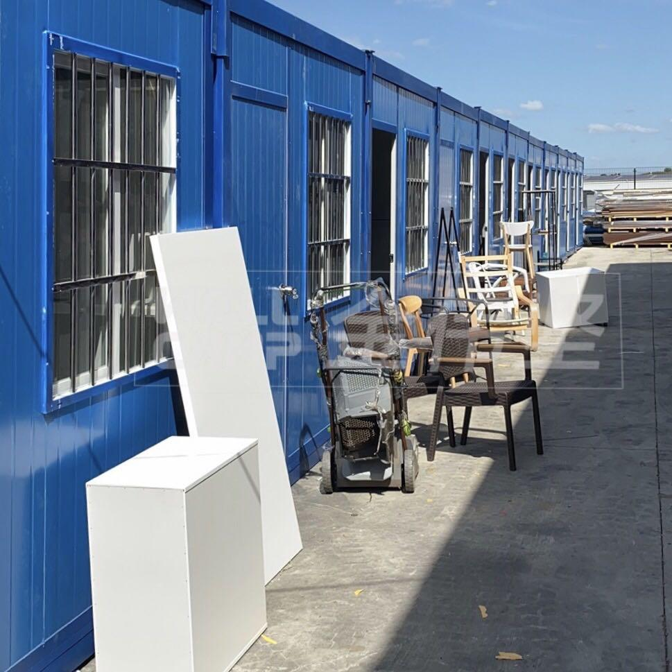 Australia folding container house project