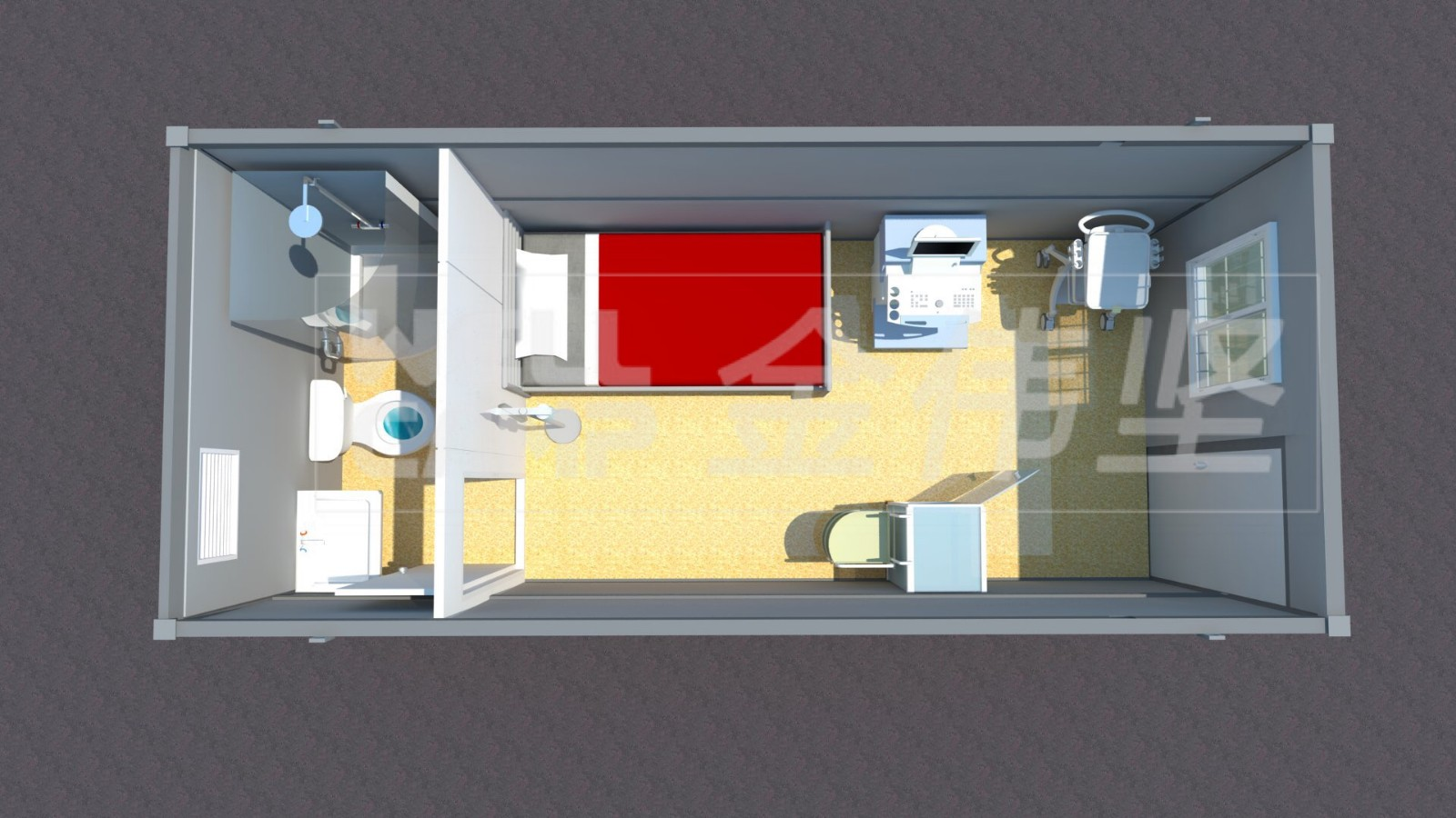 news-Three days build a hospital with flat pack container house-WELLCAMP-img