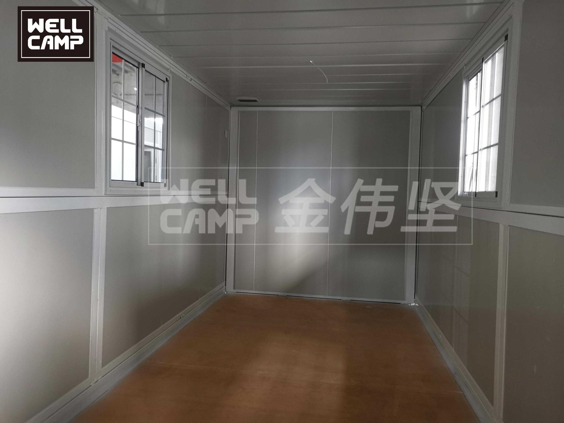 2021 newest upgrade design folding container house PLUS
