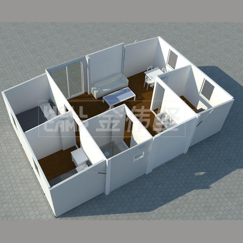 Wellcamp newest expandable container house PLUS