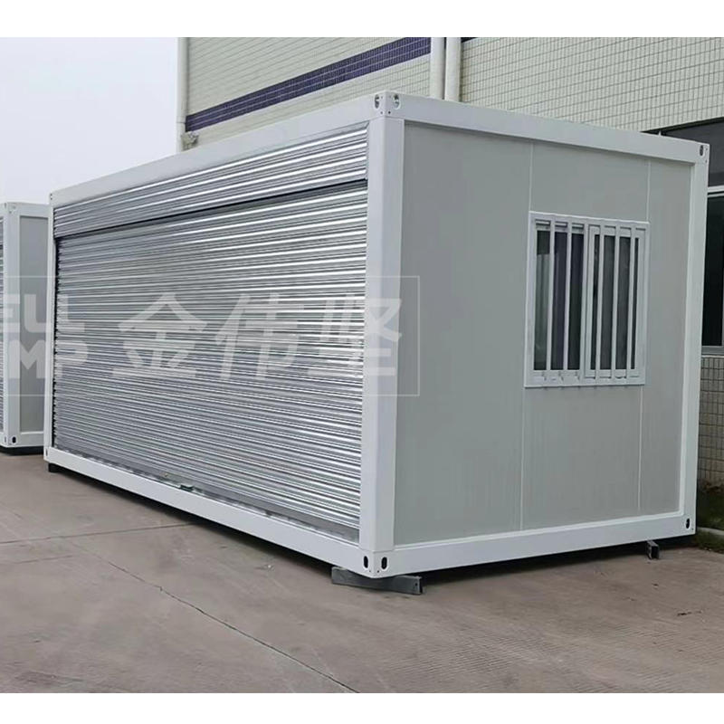 40 units container storage for local government shop project