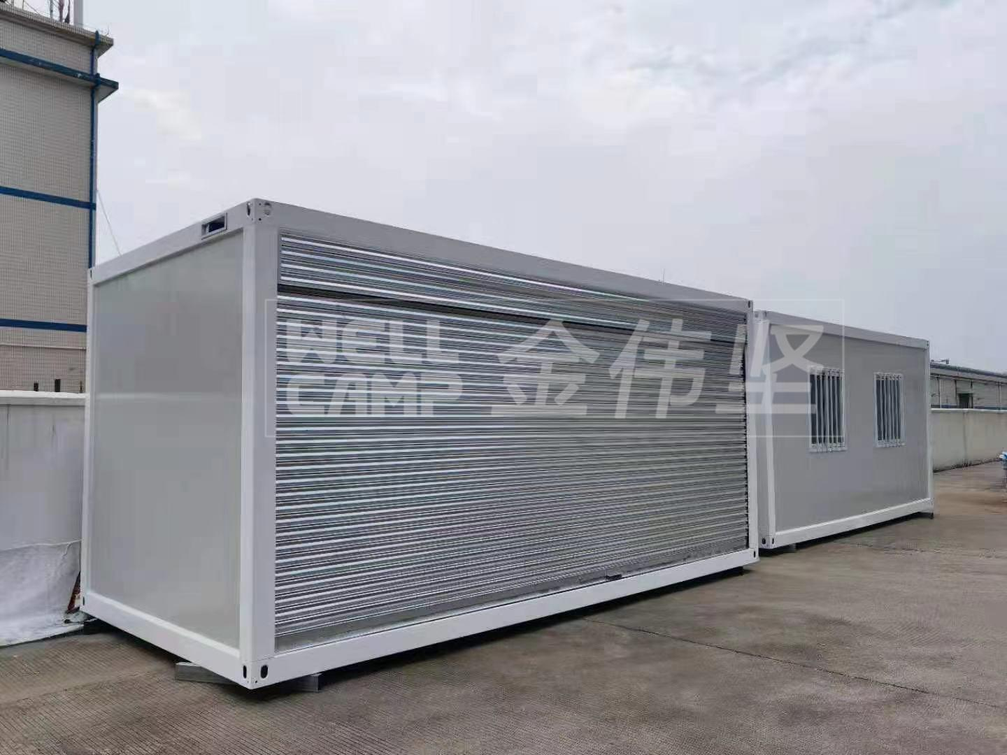 Flat Pack Container Storage/Shop With Rolling Gate