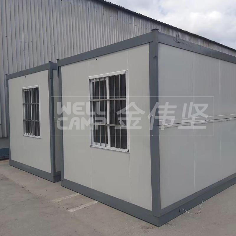 Some flat pack folding container houses projects recently