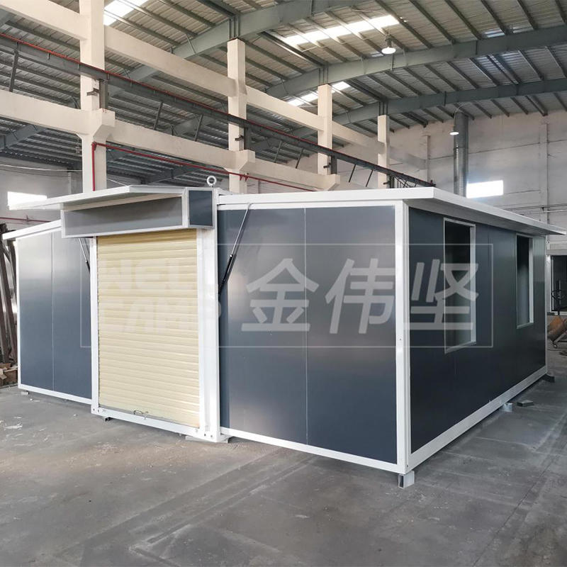 Newest Luxury Light Steel Foldable Expandable Containerized House