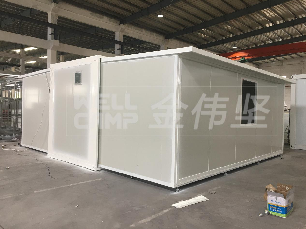 product-WELLCAMP-Newest Luxury Light Steel Foldable Expandable Containerized House-img