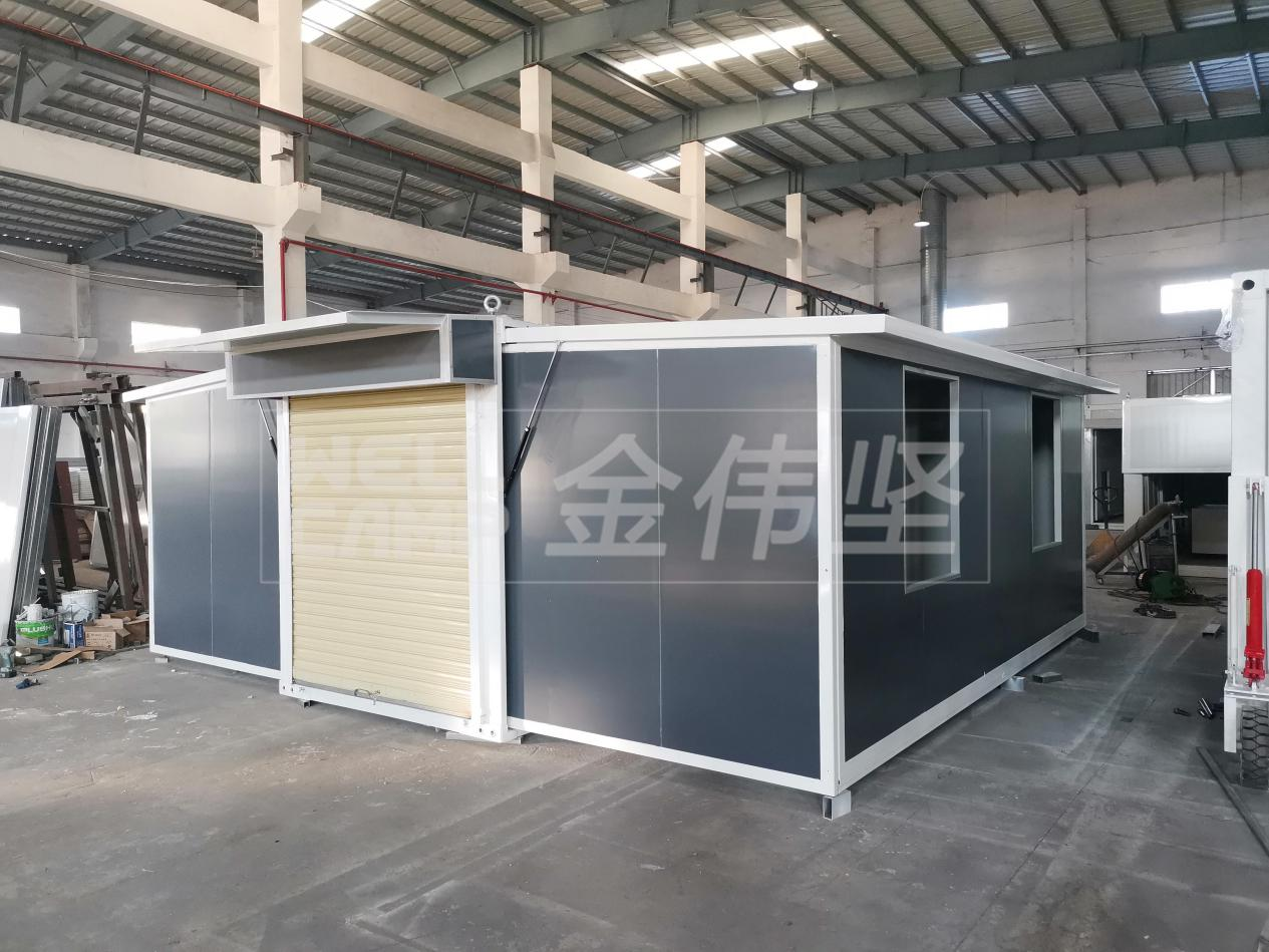 product-Newest Luxury Light Steel Foldable Expandable Containerized House-WELLCAMP-img