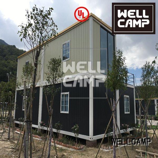 Custom container villa bedroom house floors WELLCAMP