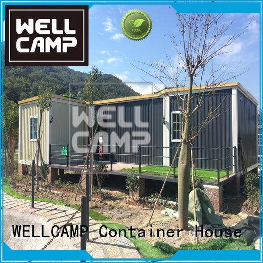 custom container homes bedrooms fixed WELLCAMP Brand
