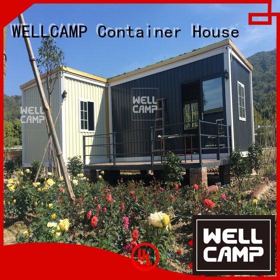 WELLCAMP Brand wool two container villa design ecofriendly