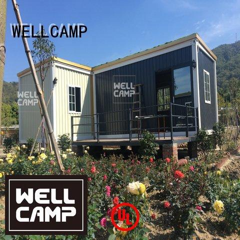 custom container homes design container villa WELLCAMP