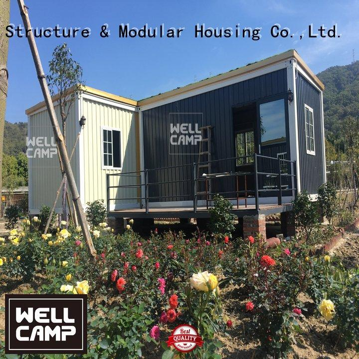WELLCAMP ecofriendly removable slpendid custom container homes two