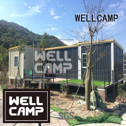 WELLCAMP custom container homes fireproof kit levels