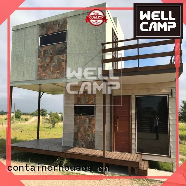 WELLCAMP Brand resort military foldable container manufacture